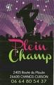 PLEIN CHAMP - Club